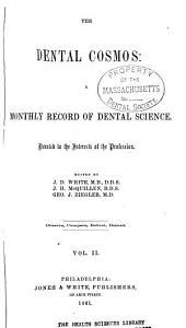 The Dental Cosmos: Volume 2