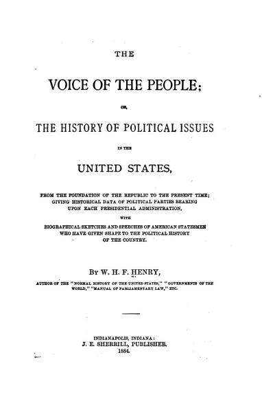 The Voice of the People PDF