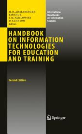 Handbook on Information Technologies for Education and Training: Edition 2