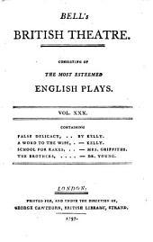 Bell's British Theatre: Volume 30