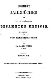 Schmidt's Jahrbücher der in- und ausländischen gesammten Medicin: Band 162