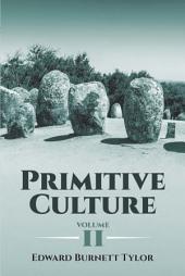 Primitive Culture: Volume 2