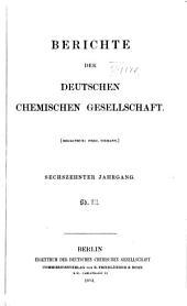 Berichte der Deutschen Chemischen Gesellschaft: Band 16,Seiten 2329-3320