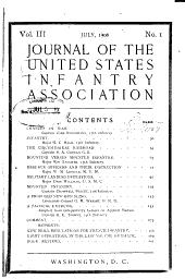 Infantry Journal: Volume 3