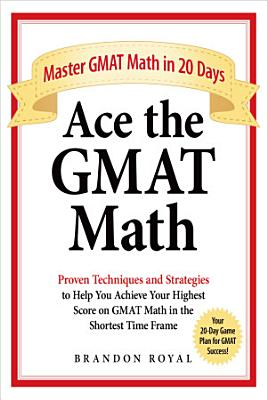 Ace the GMAT Math