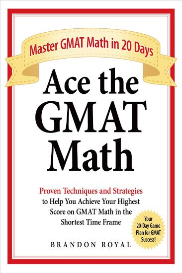 Ace the GMAT Math PDF