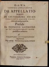 Centuria conclusionum de appellationibus