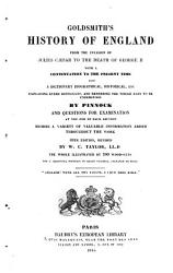 Goldsmith s History of England from the Invasion of Julius Caesar to the Death of George II with a Continuation to the Present Time PDF