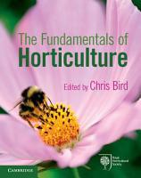 The Fundamentals of Horticulture PDF