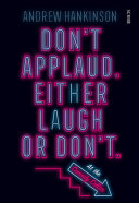 Download Don t Applaud  Either Laugh Or Don t   at the Comedy Cellar   Book