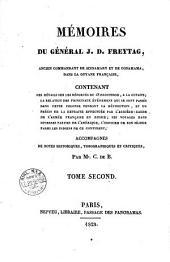 Mémoires du général J. D. Freytag, ancien commandant de Sinnamary et de Conamama dans la Guyane française, contenant des détails sur les déportés du 18 fructidor, à la Guyane ... accompagnés de notes historiques, topographiques et critiques par Mr. C. de B: 2. - 335 p, Volume1