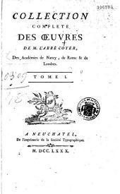 Collection complète des oeuvres de M. l'abbé Coyer