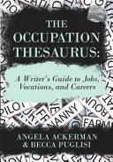 The Occupation Thesaurus PDF