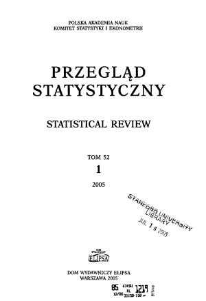 Przegl  d statystyczny PDF