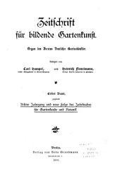 Zeitschrift für Gartenbau und Gartenkunst ...: Band 8