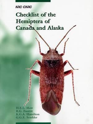 Checklist of the Hemiptera of Canada and Alaska