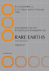 Handbook on the Physics and Chemistry of Rare Earths: Optical Spectroscopy