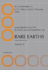 Handbook on the Physics and Chemistry of Rare Earths: Optical Spectroscopy