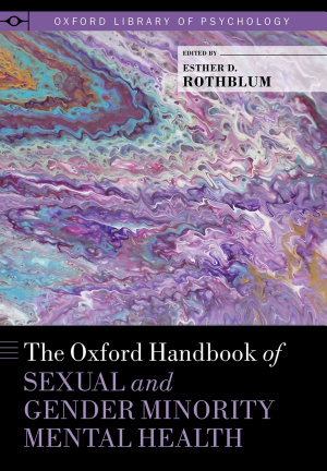 The Oxford Handbook of Sexual and Gender Minority Mental Health PDF