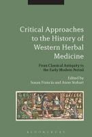 Critical Approaches to the History of Western Herbal Medicine PDF