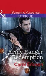 Army Ranger Redemption  Mills   Boon Intrigue   Target  Timberline  Book 3  PDF