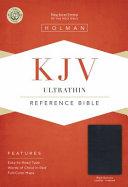 KJV Ultrathin Reference Bible  Black Genuine Leather Indexed PDF