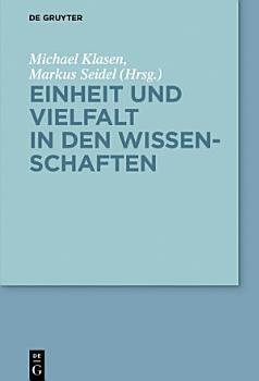 Einheit und Vielfalt in den Wissenschaften PDF