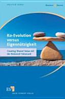 Ko Evolution versus Eigenn  tzigkeit PDF