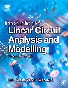 Introduction to Linear Circuit Analysis and Modelling PDF