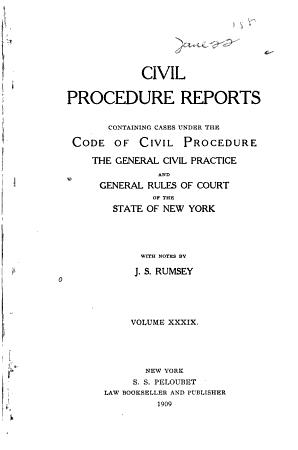 Civil Procedure Reports PDF