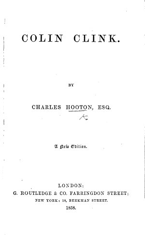 Colin Clink  With illustrations by J  Leech