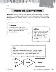 Bridge to Terabithia Studying the Story Elements PDF