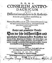 Consilium antipodagricum