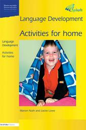 Language Development 1a: Activities for Home