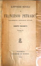 Lettere senili di Francesco Petrarca: Volume 2