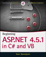 Beginning ASP NET 4 5 1  in C  and VB PDF