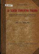 La Scheda cumulativa italiana PDF