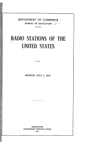 Commercial and Government Radio Stations of the U.S.