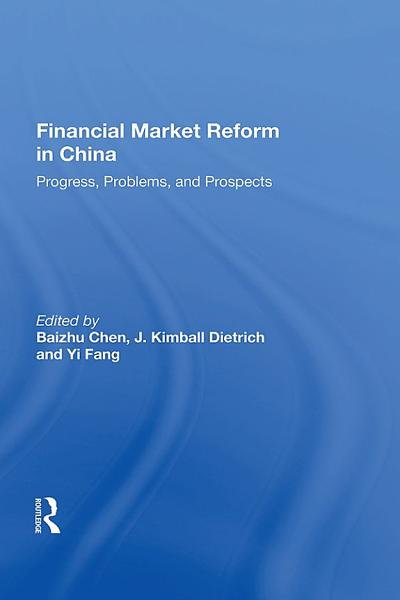Financial Market Reform In China PDF
