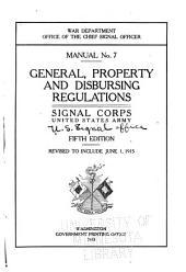 General, Property, and Disbursing Regulations