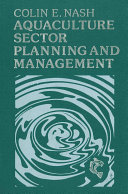 Aquaculture Sector Planning and Management