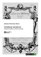 Goldberg Variations: MuseScore edition by Werner Schweer