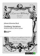 Goldberg Variations: MuseScore edition by Werner Schweer