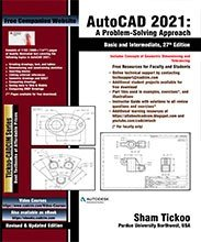 AutoCAD 2021  A Problem   Solving Approach  Basic and Intermediate  27th Edition