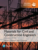 Materials for Civil and Construction Engineers