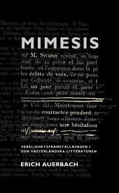 Mimesis: Verklighetsframställningen i den västerländska litteraturen