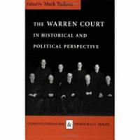 The Warren Court in Historical and Political Perspective PDF