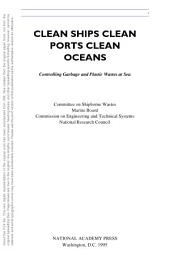 Clean Ships, Clean Ports, Clean Oceans: Controlling Garbage and Plastic Wastes at Sea