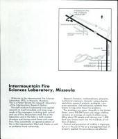 Intermountain Fire Sciences Laboratory, Missoula, Montana