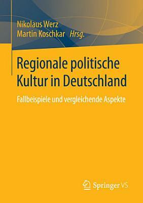 Regionale politische Kultur in Deutschland PDF